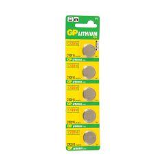 5 סוללות ליתיום CR2016