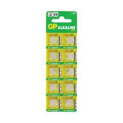 10 סוללות אלקליין LR44