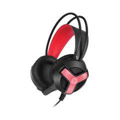 אוזניות גיימינג מוארות 3.5MM+USB
