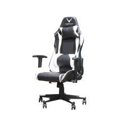 כיסא גיימינג VAMPIRE שחור לבן
