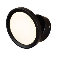 מנורת קיר שחורה אטלס 8W