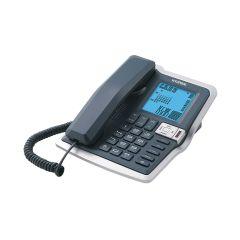 טלפון משרדי צג גדול שחור
