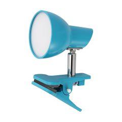 מנורת קליפס לוגי 5W כחול