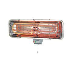 תנור קיר לאמבט 2 דרגות חום 2200W