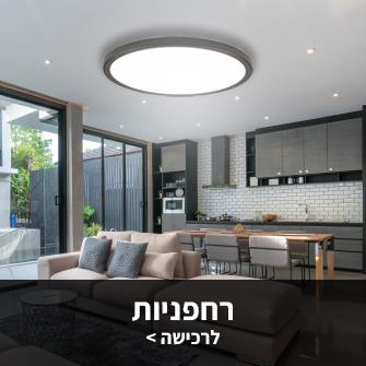 גוף תאורה דקורטיבי צמוד תקרה